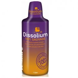 DISSOLIUM 100% plantes sauvages detox Foie vésicule biliaire