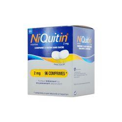 NIQUITIN 2MG 96 Comprimés à sucer Menthe douce