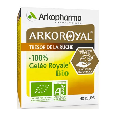 ARKOROYAL GELEE ROYALE BIO POT 40G