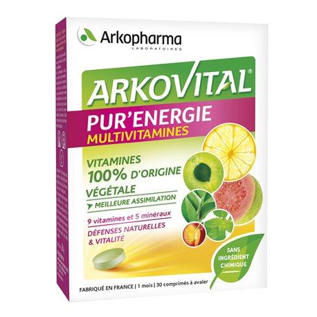 ARKOVITAL PUR'ENERGIE 30 comprimés