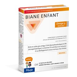 BIANE ENFANT DHA Vitamine D Vitamine E PILEJE