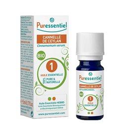 PURESSENTIEL Huile essentielle bio Cannelle Ceylan 5ml