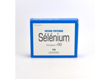 Selenium Lehning L99 homeopathy overwork tired complex