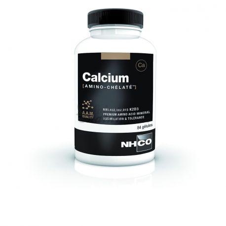 O cálcio quelatado Amino NHCO 84 Cápsulas