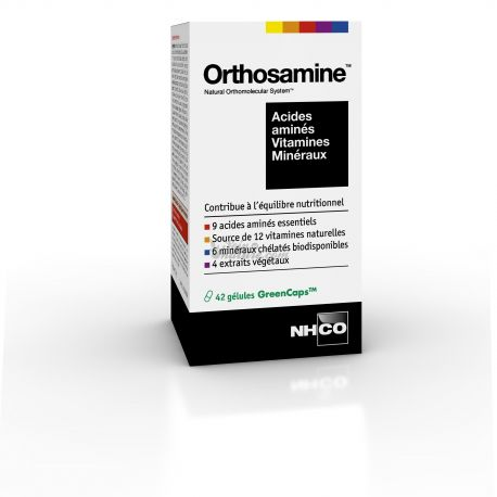 ORTHOSAMINE NHCO ÉQUILIBRE NUTRITIONNEL 42 GELULES