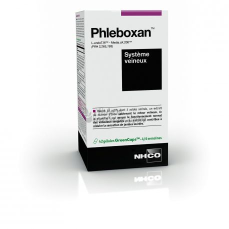 PHLEBOXAN NHCO SYSTÈME VEINEUX 42 GELULES
