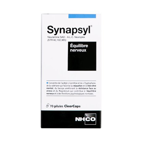 Nhco Synapsyl Equilibre Nerveux 70 Gélules