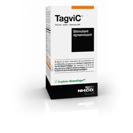 TAGVIC NHCO ESTIMULANT energitzar 60 CÀPSULES