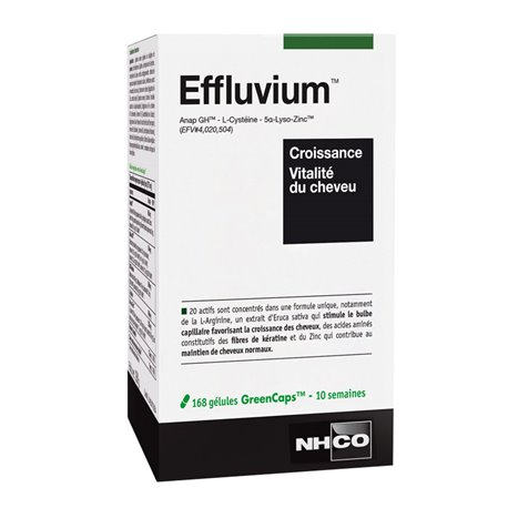 NHCO EFFLUVIUM HAIR anti overturning 168 CAPSULES