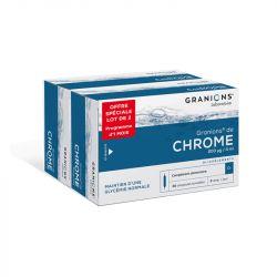 GRANIONS CHROME CR 60 AMPOULES BUVABLES
