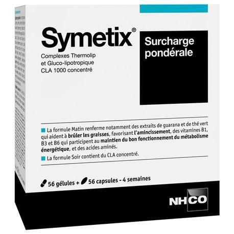 NHCO Symetix sobrecàrrega pes inferior al 56 Càpsules