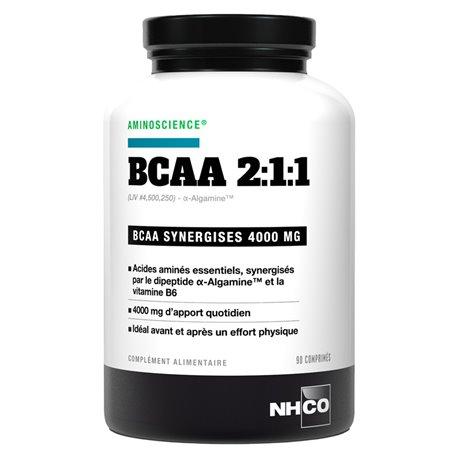 NHCO BCAA recuperación 211 90 Tabletas
