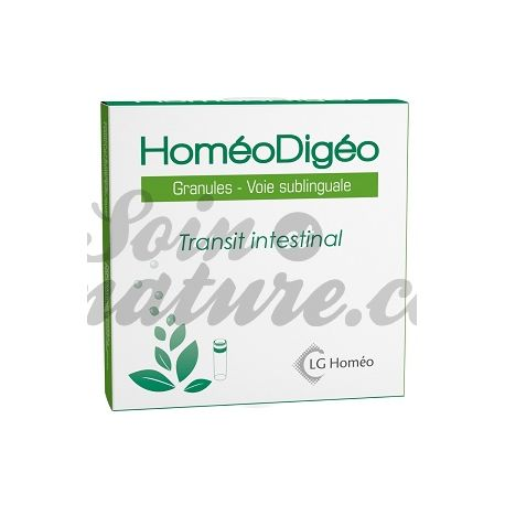HoméoDigéo (DIGEOSLOR) Transit intestinal GRANULES HOMEOPATIA LG LABO