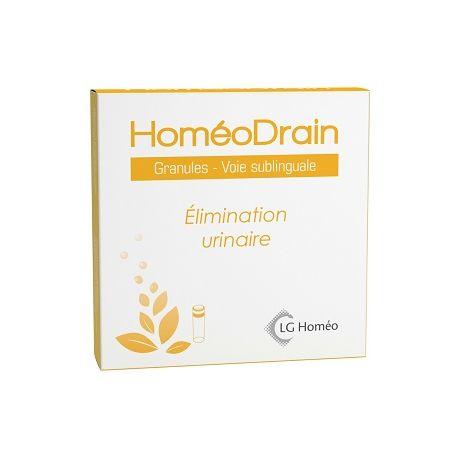 HoméoDrain (URODREN) élimination urinaire GRANULES HOMEOPATIA LG LABO