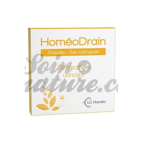 HoméoDrain (URODREN) élimination urinaire GRANULES Homéopathie LG LABO