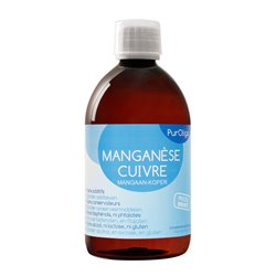 PUROLIGO MANGANESE CUIVRE Oligothérapie 250ML