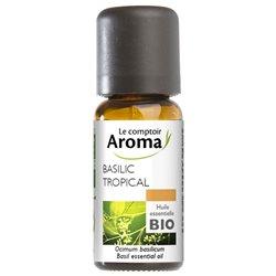 LE COMPTOIR AROMA Huile essentielle Basilic tropical Bio 10ml