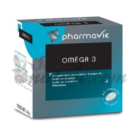 PHARMAVIE OMEGA 3 60 CAPSULE