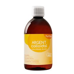 PurOligo 20ppm prata coloidal de 250ml