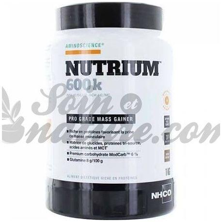 NHCO Nutrium 600K 1KG VANILLA MASSA DE DISPARO
