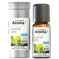 LE COMPTOIR AROMA Huile essentielle Lavande aspic Bio 10ml