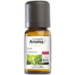 LE COMPTOIR AROMA Huile essentielle Thym linalol Bio 5ml