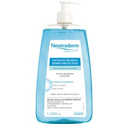 NEUTRADERM GEL DOUCHE MICELLAIRE 1L