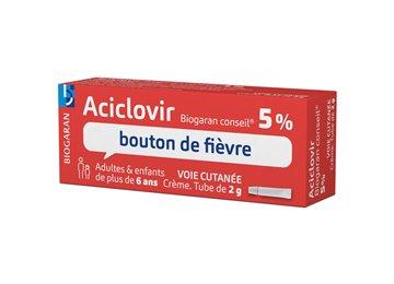 aciclovir crema para herpes labial
