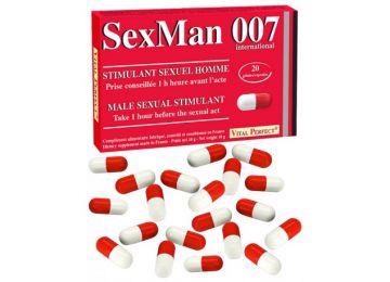 Vital Perfect Sexman 007 20 Capsules Natural Aphrodisiac