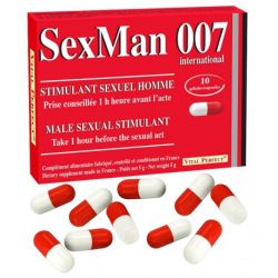 VITAL PERFECT SEXMAN 007 10 GÉLULES