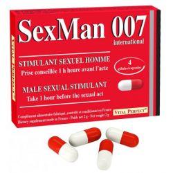 VITAL PERFECT SEXMAN 007 4 GÉLULES