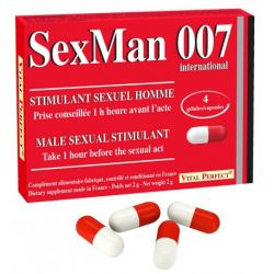 VITAL PERFECT SEXMAN 007 4 GÉLULES