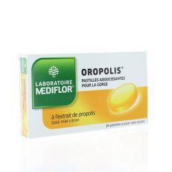 Oropolis Мед Лимон 20 пастилок успокаивающие Прополис