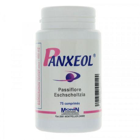 PANXEOL apaise facilite sommeil 75 comprimés