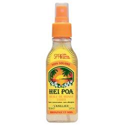 HEI POA MONOI SOL SPF6 Huile vanillier Spray 100ml