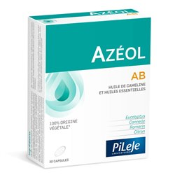 AZEOL AB huiles essentielles + huile de cameline Phytoprevent 30 capsules