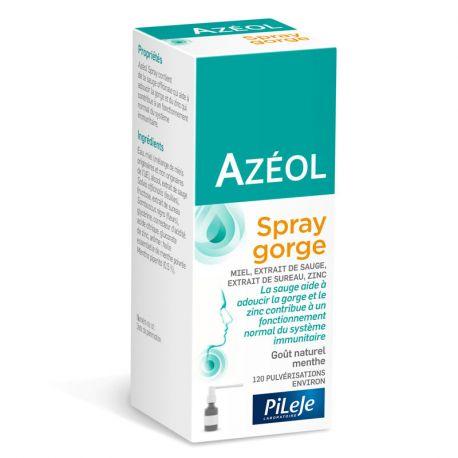 AZÉOL natural throat spray softening PhytoPrevent