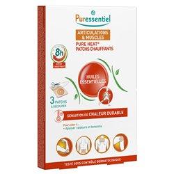 Puressentiel Patch Chauffant Articulations et Muscles aux 14 Huiles Essentielles
