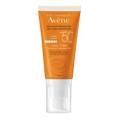 AVENE-SOLAIRE CREME PROTECTION 50+ TUB 50ML