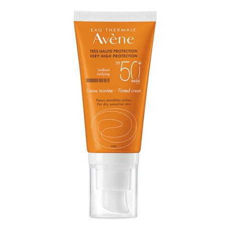 AVENE-SOLAIRE CREME PROTECTION 50+ TEINTE TB 50ML