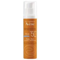 Avène Solaire Emulsion Très Haute Protection Spf50+ Sans Parfum 50ml
