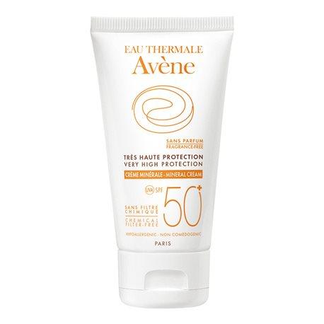 AVENE SUN CREAM SPF50 + MINERAL PROTECTION 50ML