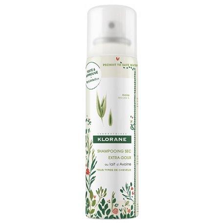 Klorane Shampoo a seco aveia Sprays 150ml de leite