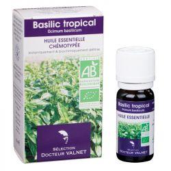 DOCTEUR VALNET Huile essentielle bio Basilic tropical 10ml