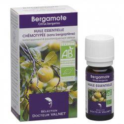 DOCTEUR VALNET Huile essentielle bio Bergamote 10ml