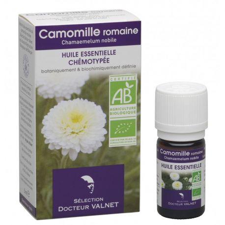 DOCTEUR VALNET Huile essentielle bio Camomille Romaine 5ml