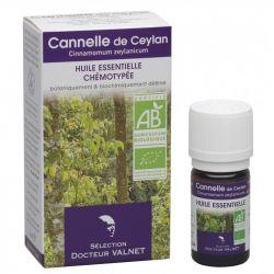 DOCTEUR VALNET Huile essentielle bio Cannelle Ceylan 5ml