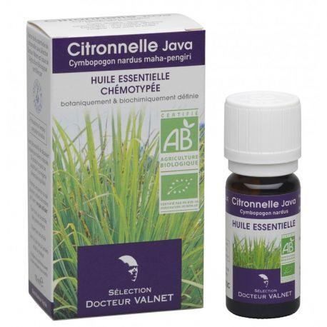 DOCTEUR VALNET Huile essentielle bio Citronnelle Java 10ml