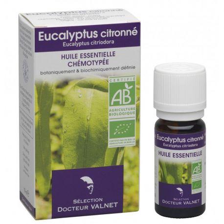 DOCTEUR VALNET Huile essentielle bio Eucalyptus citronné 10ml