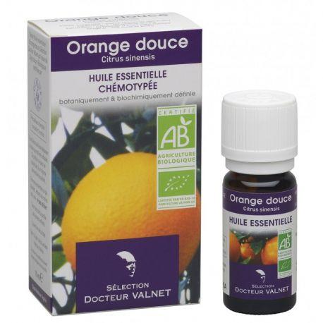 DOCTEUR VALNET Huile essentielle bio Orange douce 10ml